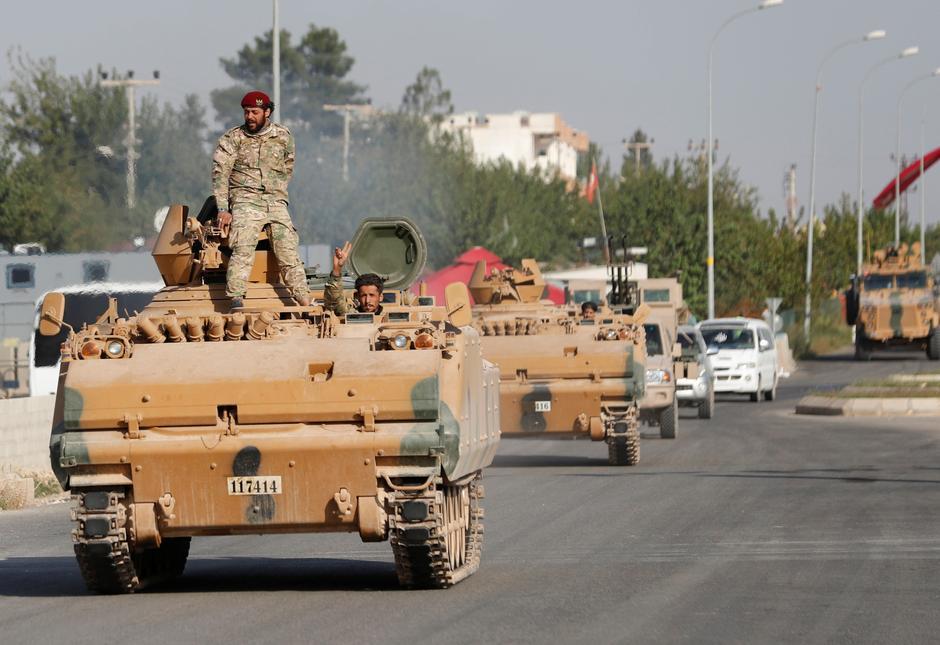 Thổ Nhĩ Kỳ tiếp tục đẩy mạnh chiến dịch tấn công Syria
