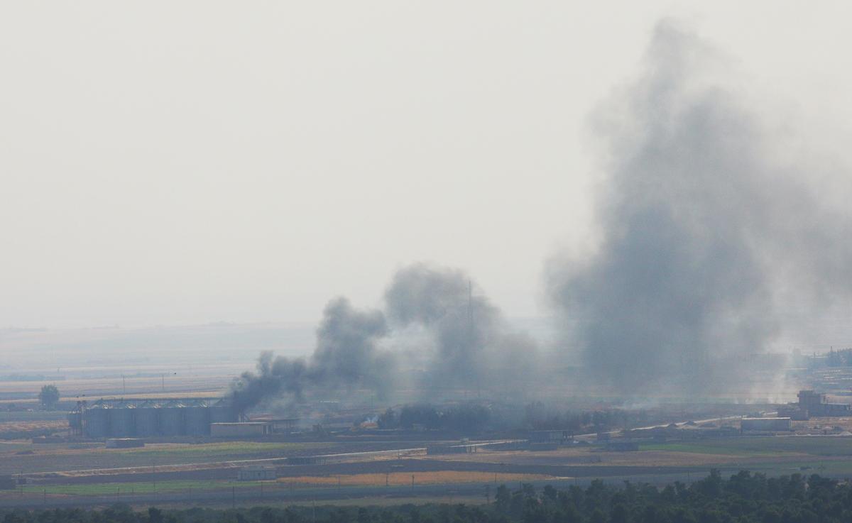 Pháo kích vẫn tiếp diễn ở miền Đông Bắc Syria, bất chấp thỏa thuận đình chiến