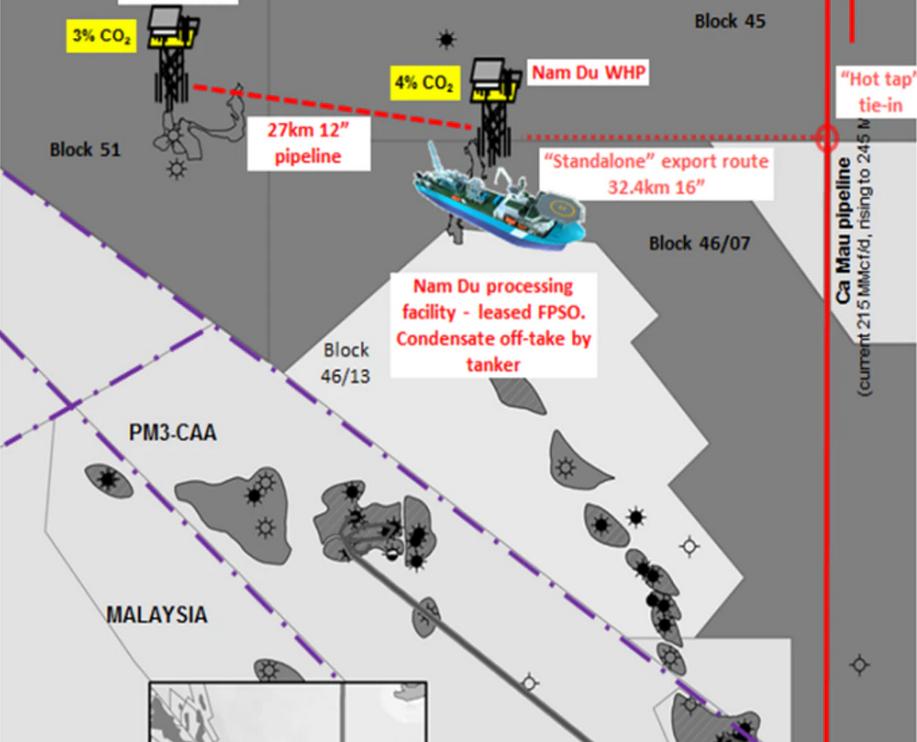 Công ty Jadestone đệ trình kế hoạch cho hai mỏ khí đốt ngoài khơi Việt Nam
