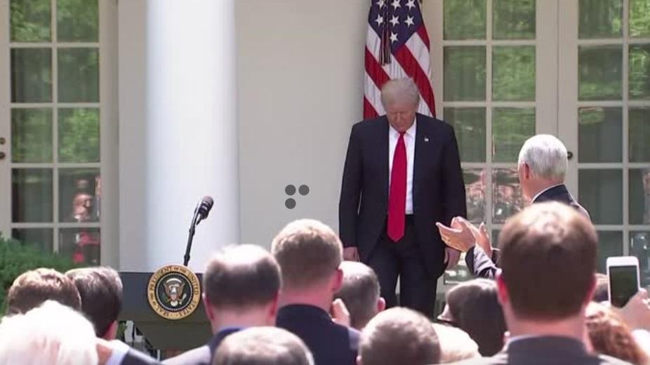 Chính phủ Trump chính thức rút khỏi hiệp định khí hậu Paris