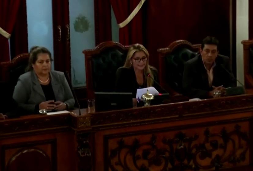 Người đứng đầu thượng viện Bolivia đảm nhận chức tổng thống lâm thời