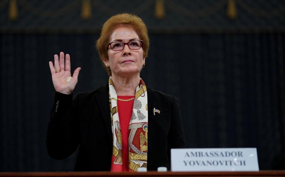 Cựu đại sứ Hoa Kỳ tại Ukraine điều trần tại Hạ viện