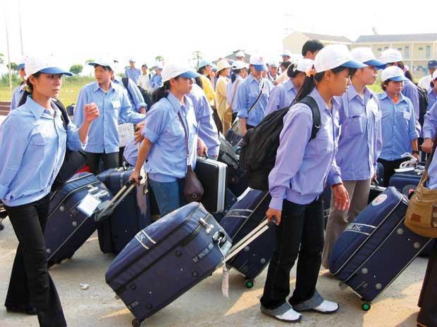Hơn 2,300 người ở Nghệ An không chịu về nước sau khi hết hạn hợp đồng lao động