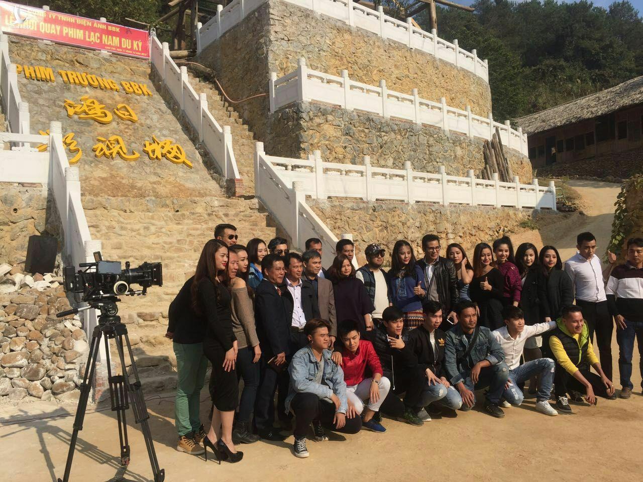 """Người Trung Cộng cấp tiền xây phim trường """"bí ẩn"""" không phép tại Lạng Sơn"""