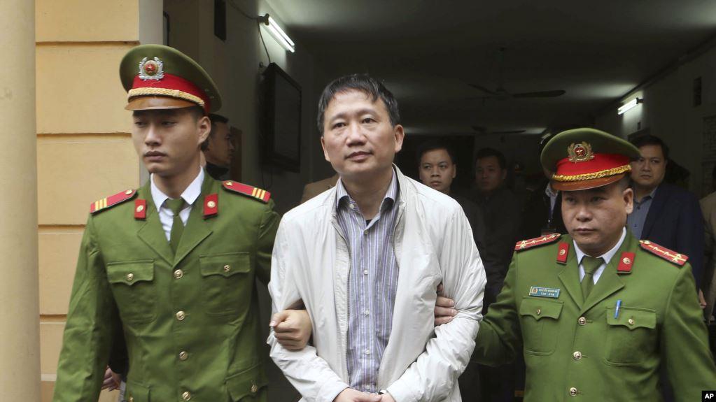 Bộ công an CSVN không chịu trả tiền thuê chuyên cơ bắt cóc Trịnh Xuân Thanh