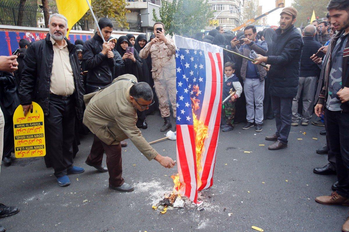 Iran kỷ niệm 40 năm ngày chiếm đóng tòa Đại Sứ Hoa Kỳ