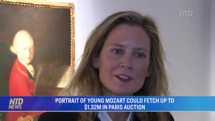 Bức chân dung hiếm của Mozart thu về 4 triệu Euro trong buổi đấu giá ở Paris