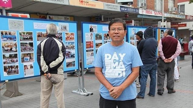 Ông Châu Văn Khảm cùng 2 nhà hoạt động ra tòa vì cáo buộc khủng bố vào ngày 11/11