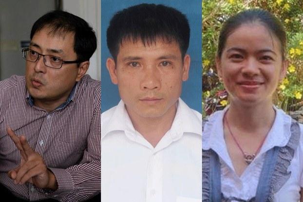 Ba nhà bất đồng chính kiến được trao giải nhân quyền 2019