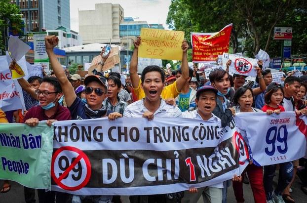 Chỉ vì có ý định tham giam biểu tình, 4 công dân Đồng Nai có thể bị tù nhiều năm