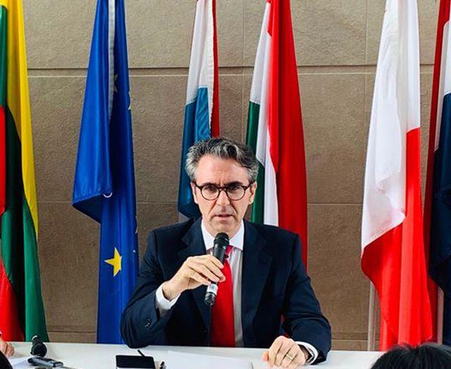 """Tân đại sứ Aliberti: EU xem Biển Đông không phải là vấn đề """"song phương"""""""