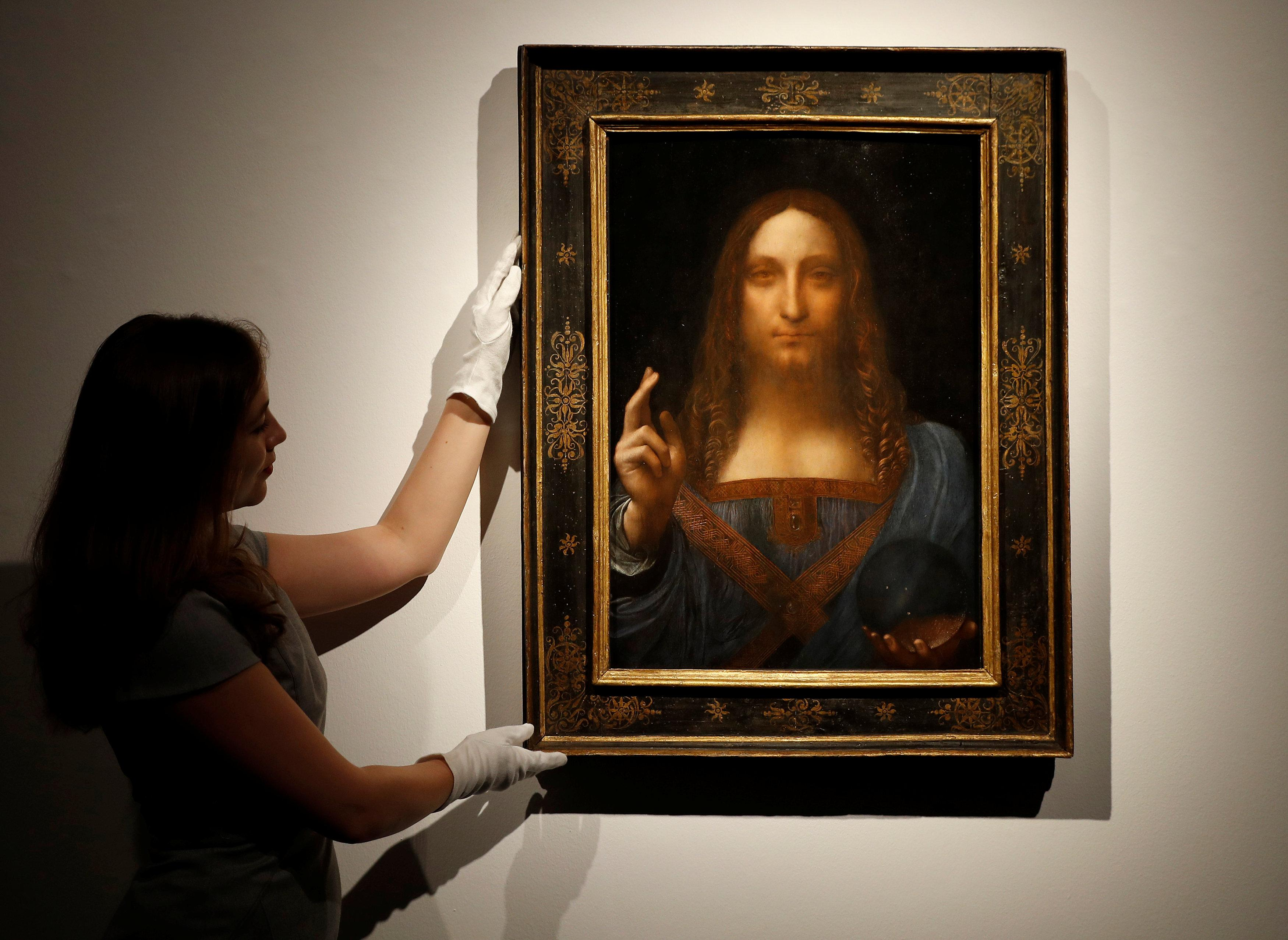 Mở cửa triển lãm Leonardo Da Vinci tại bảo tàng Louvre