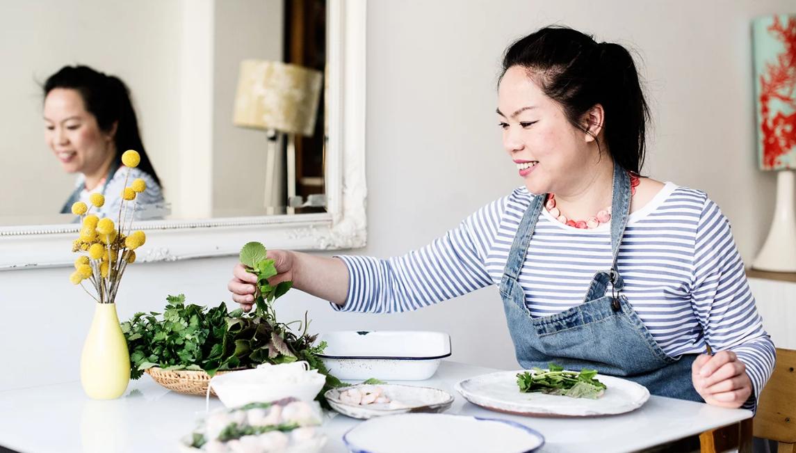Người phụ nữ mang ẩm thực Việt đến London
