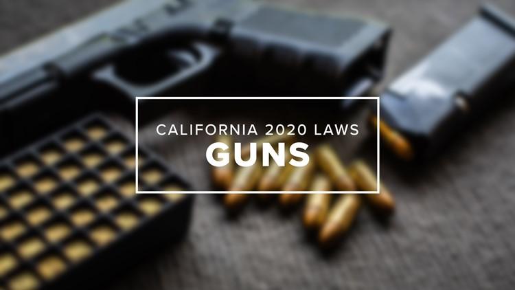 Những điểm mới trong luật kiểm soát súng 2020 của California
