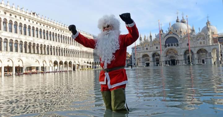 Venicengập lụt vào đêm Giáng Sinh