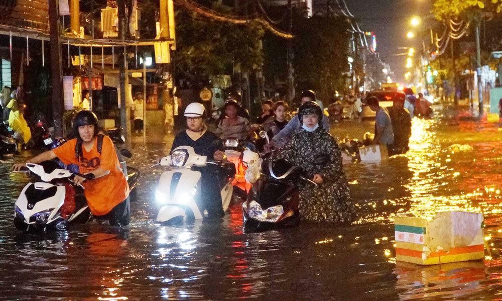 Chỉ 10 năm qua Sài Gòn đã chìm gần 1 mét