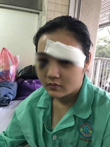 Sau khi tố giác tội phạm, cô gái bị côn đồ đánh đập dã man