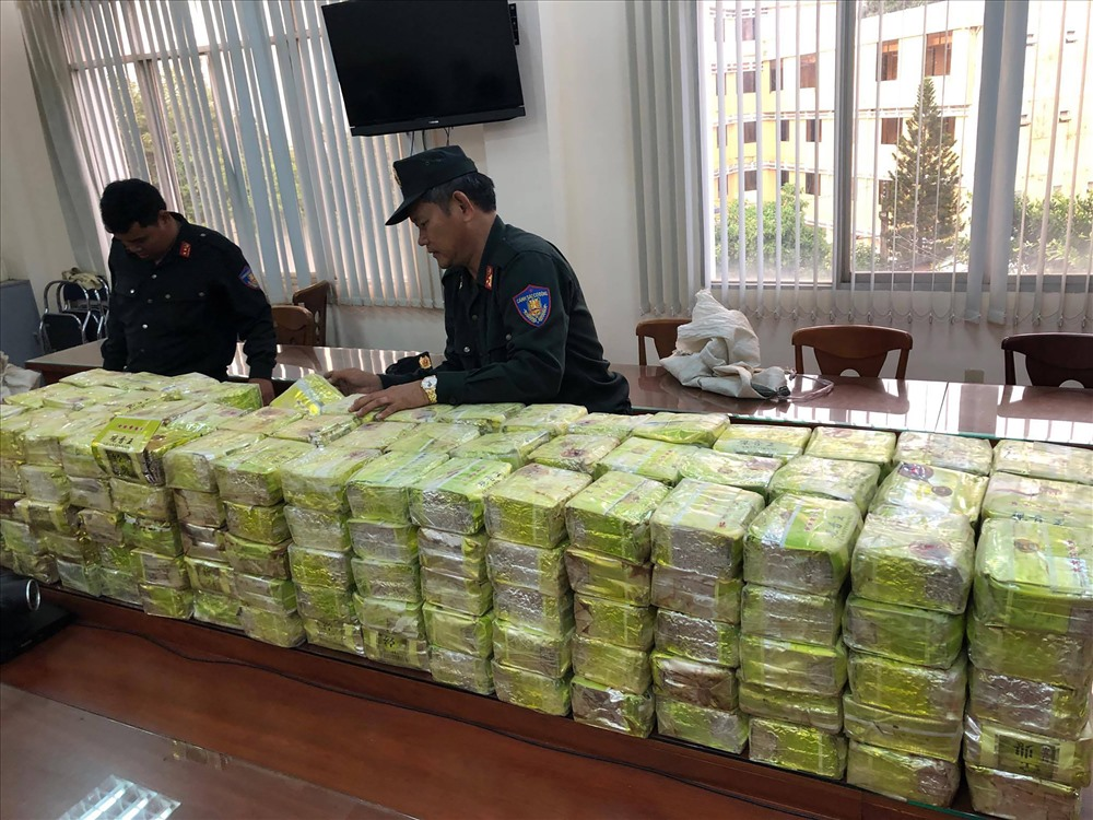 Việt Nam thu giữ 9 tấn thuốc gây nghiện năm 2019, gấp 5 lần so với 2018