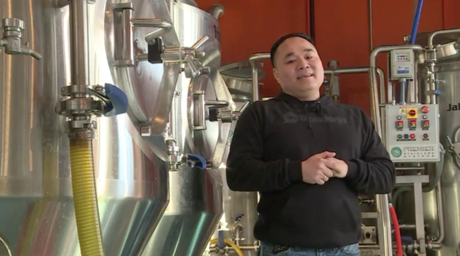 Bí quyết thành công về nấu bia hơi của ông chủ gốc Việt