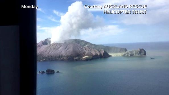 Chấn động gia tăng trên đảo núi lửa New Zealand, ngăn chăn việc thu hồi các thi thể