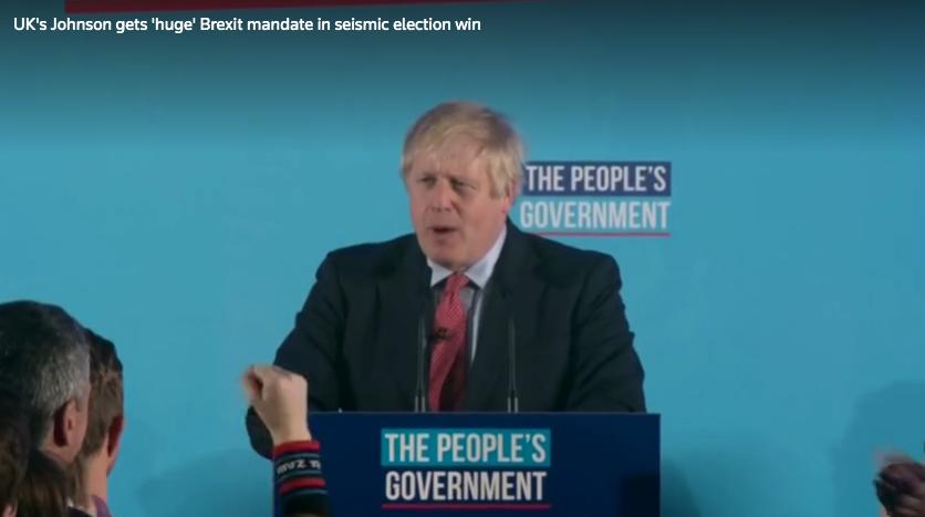 Chiến thắng áp đảo của thủ tướng Boris Johnson đẩy mạnh tiến trình Brexit