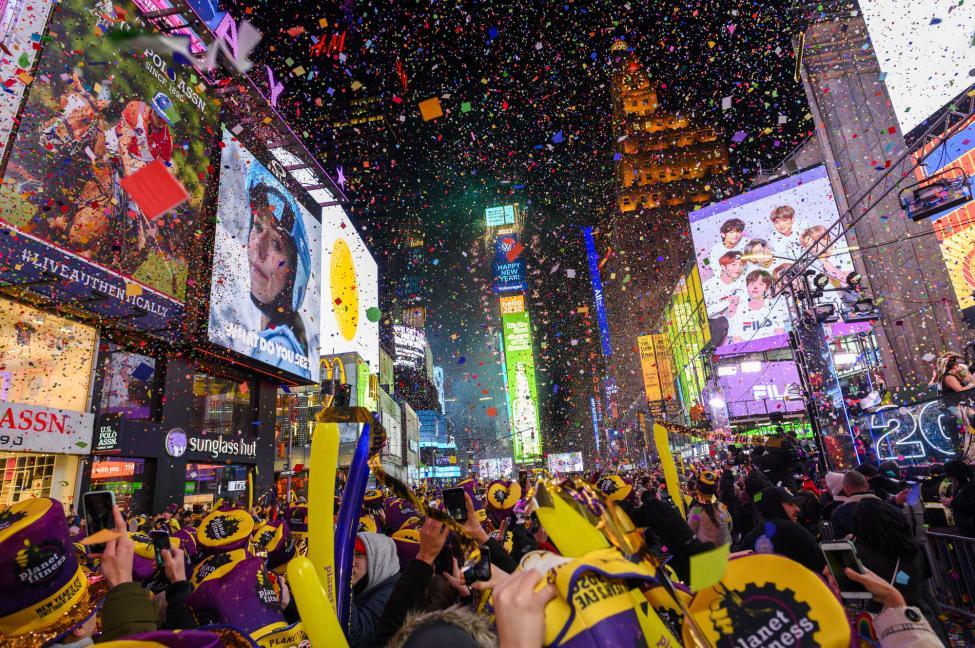 New York chào mừng năm mới 2020