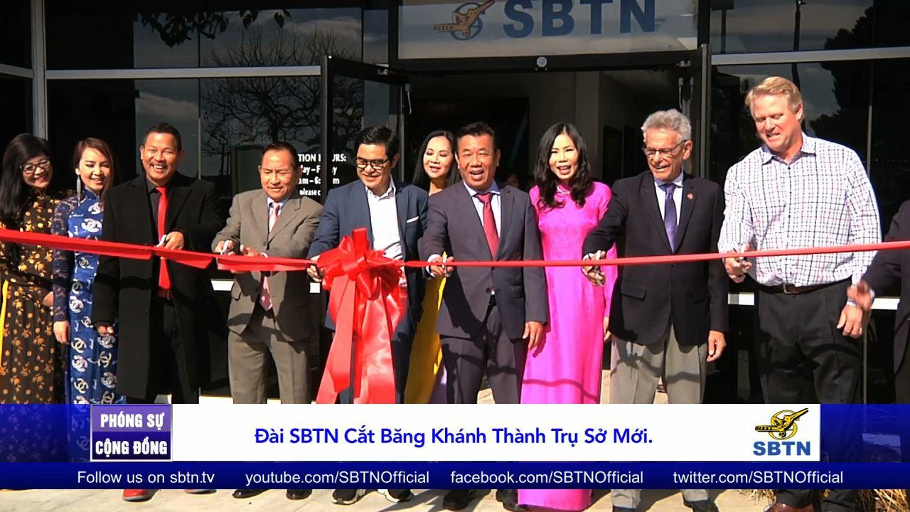 Đài SBTN cắt băng khánh thành trụ sở mới