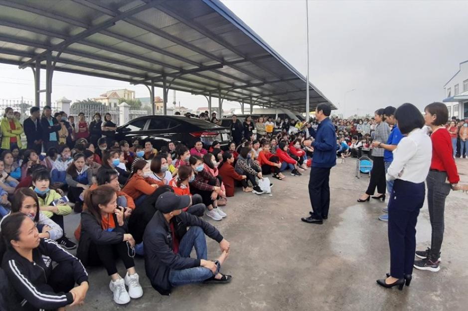 Công nhân Việt Nam thực hiện18 cuộc đình công trong dịp Tết 2020