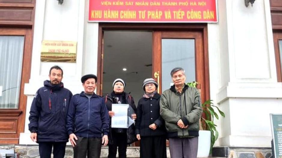 12 nhà hoạt động xã hội ở Hà Nội nộp đơn yêu cầu điều tra người giết ông Lê Đình Kình