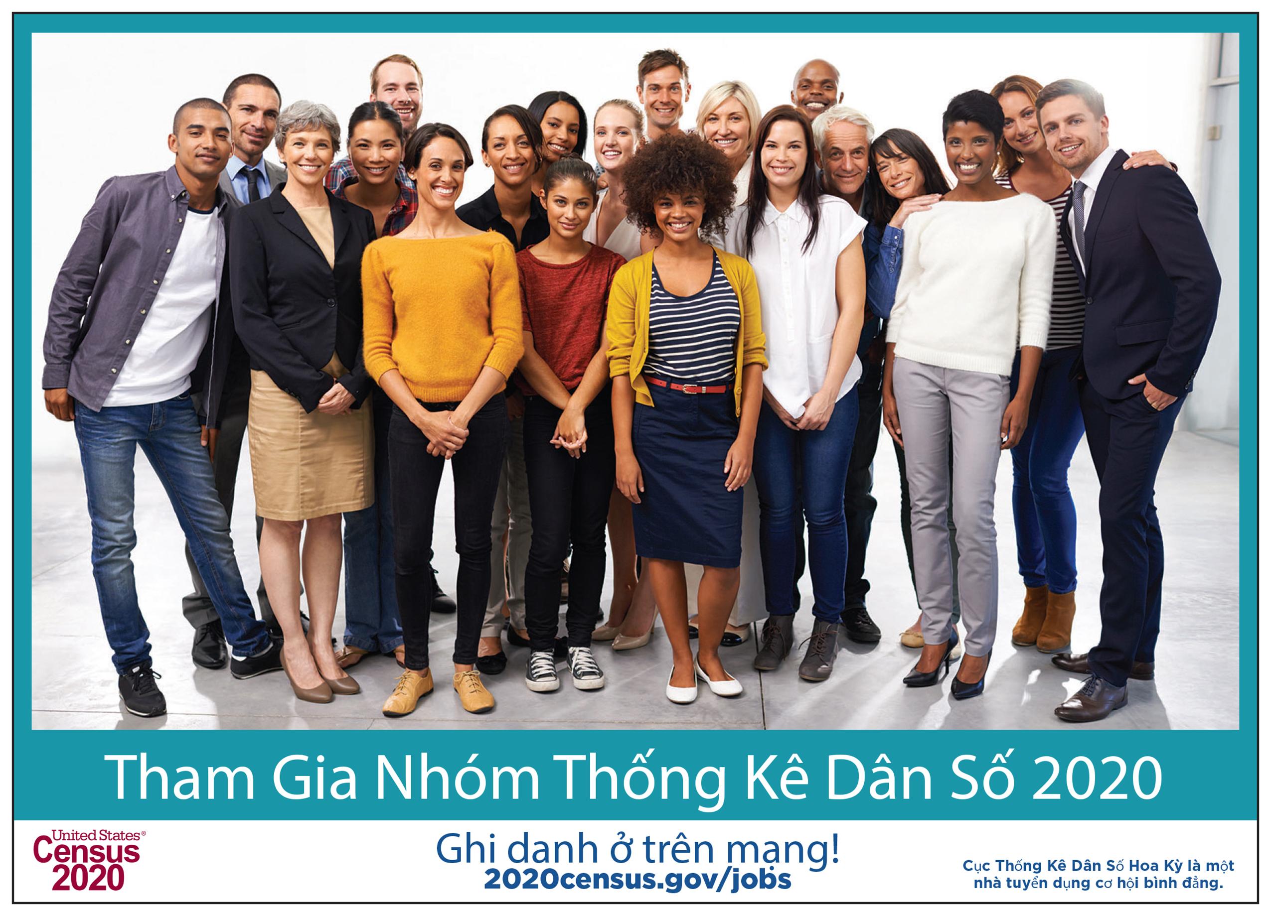 Tham gia nhóm Thống Kê Dân Số 2020