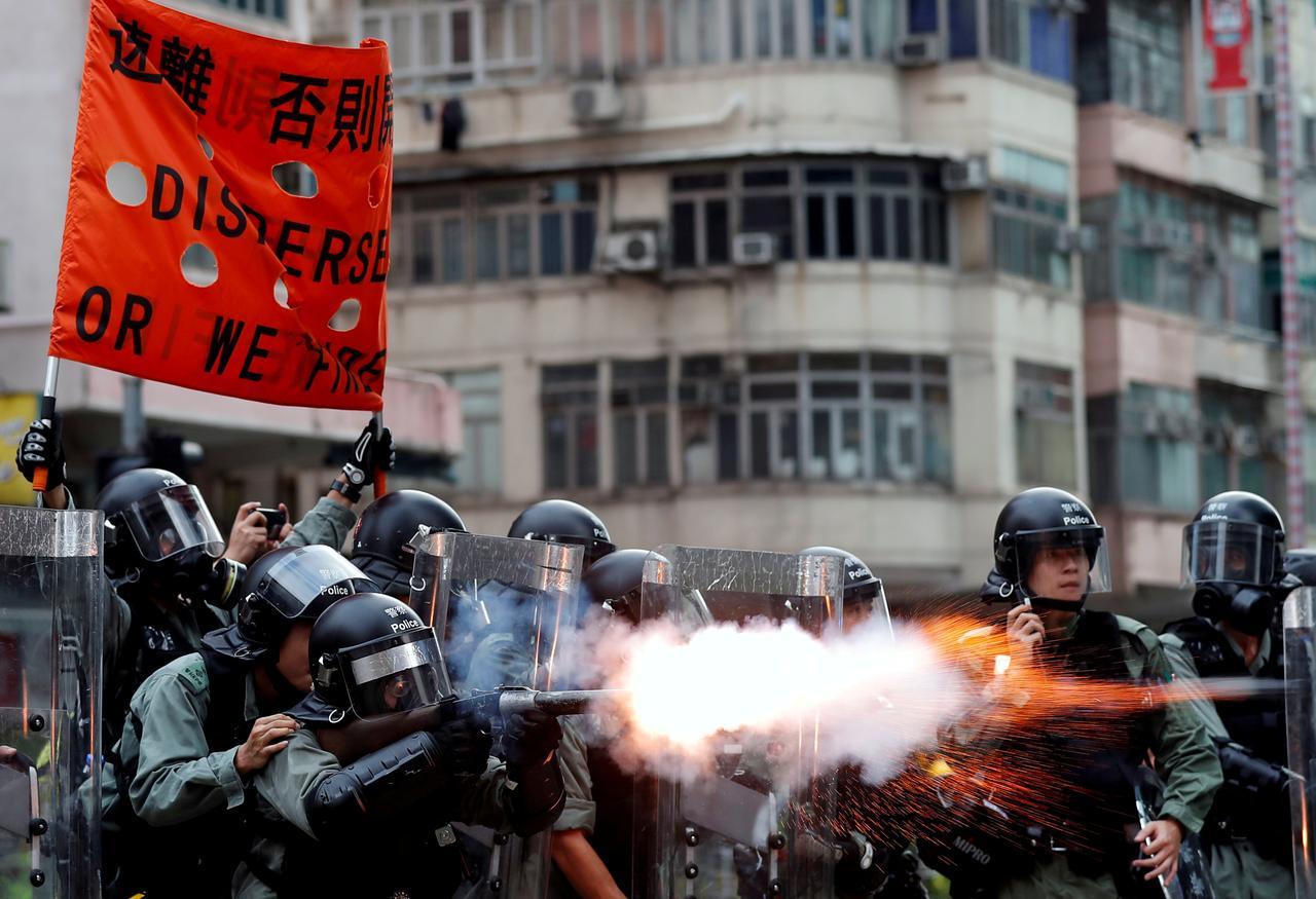 Người biểu tình ở Hồng Kông đang thay đổi chiến thuật