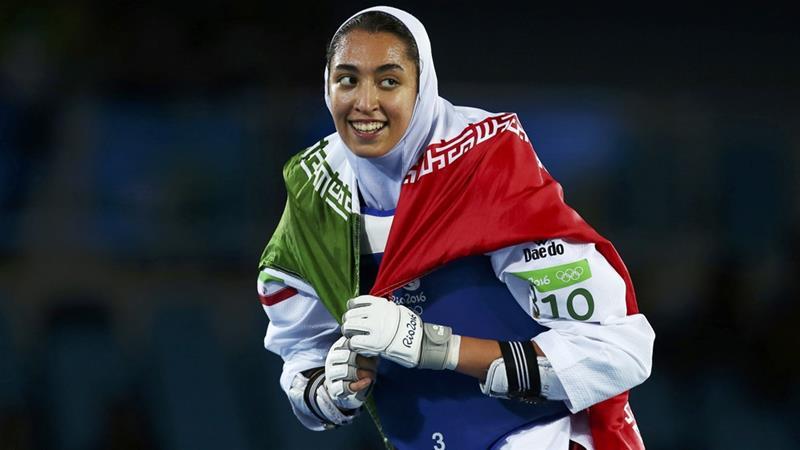 Nữ lực sĩ duy nhất dành huy chương Olympic cho Iran được cho là đã đào thoát khỏi Iran