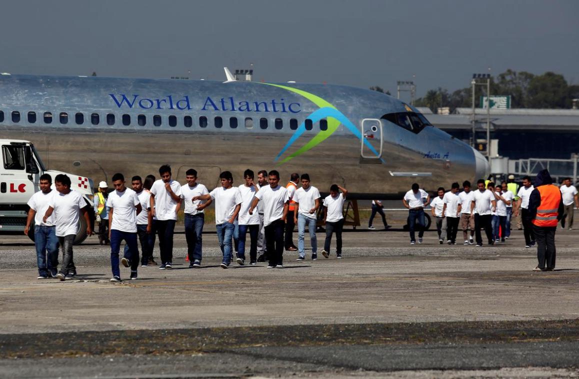 Số vụ trục xuất người Guatemala của Hoa Kỳ tăng gấp đôi trong thập niên qua