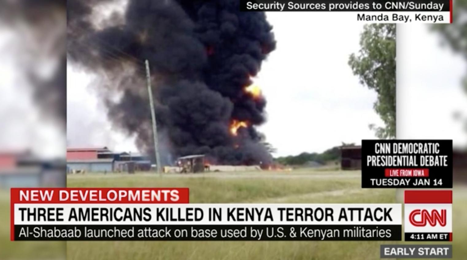 3 người Mỹ thiệt mạng sau khi căn cứ quân sự của Hoa Kỳ bị Al-Shabab tấn công