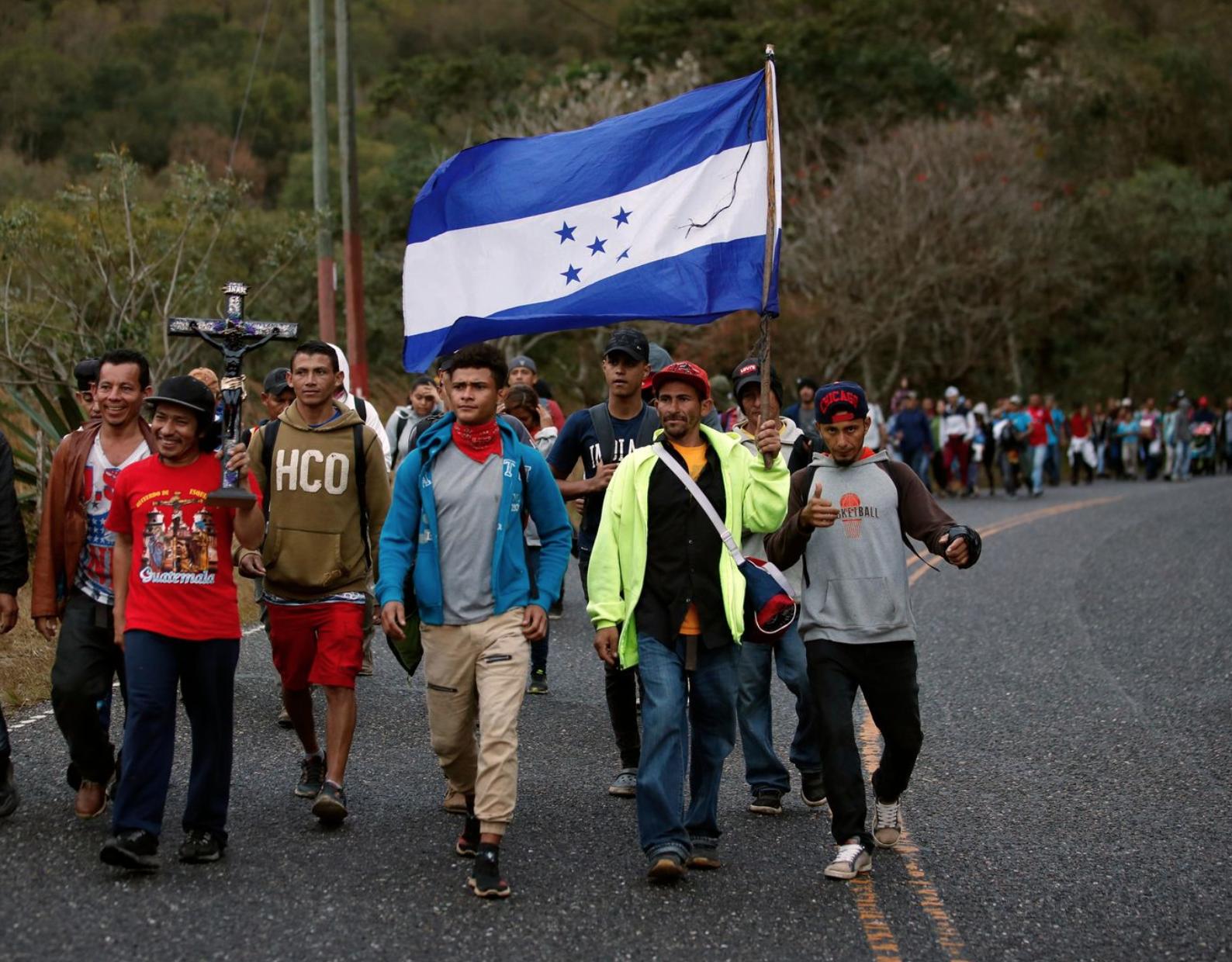 Mexico chuẩn bị sẵn sàng để đối phó di dân Trung Mỹ ở biên giới phía Nam