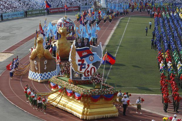 Cambodia kỷ niệm 40 năm ngày lật đổ chế độ Khmer đỏ