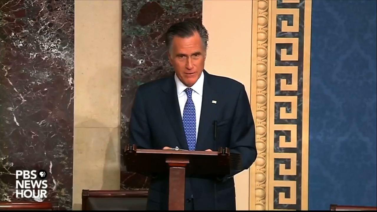 Tổng Thống Trump chỉ trích Thượng Nghị Sĩ Mitt Romney vì lá phiếu luận tội