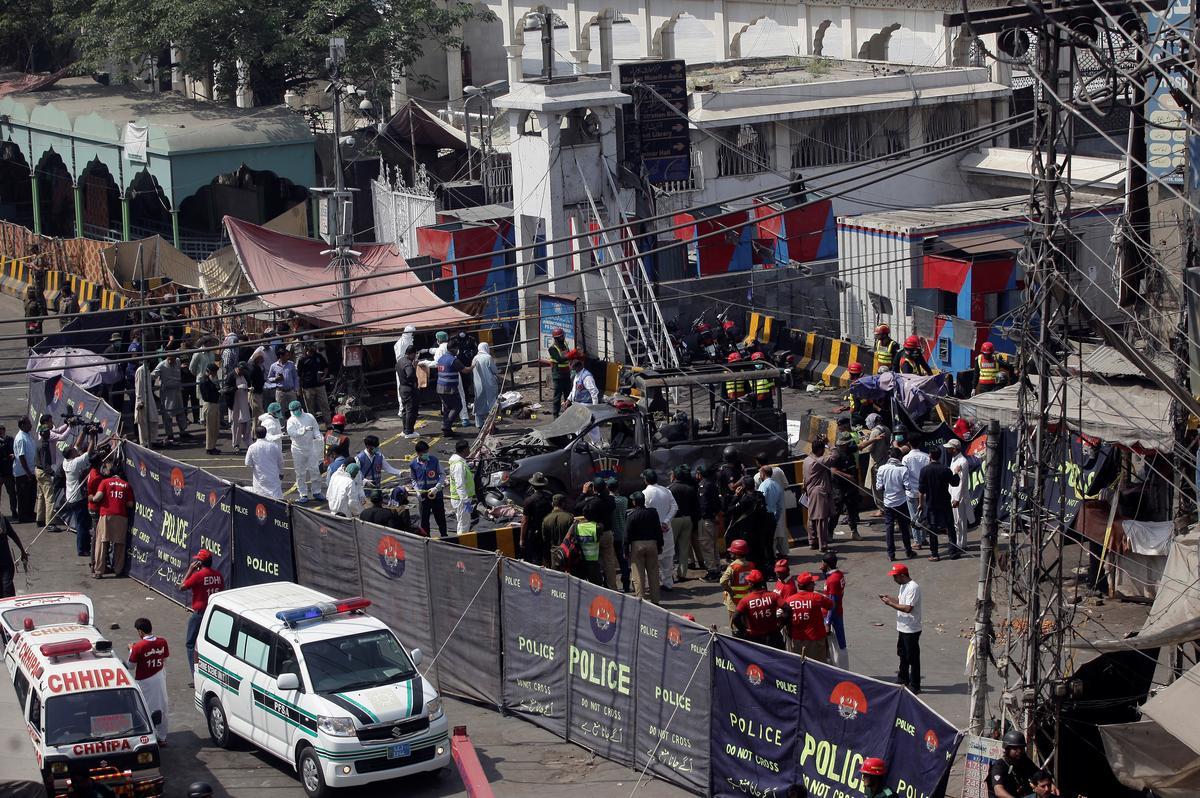 Hàng chục người thương vong trong vụ đánh bom tự sát tại Pakistan