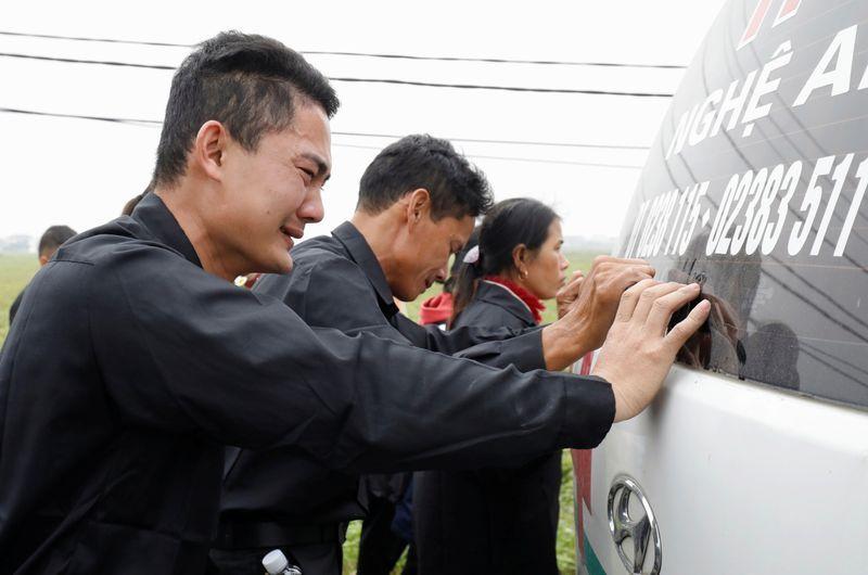 Hà Tĩnh khởi tố7 bị can liên quan đến 39 người chết trong xe container ở AnhQuốcnăm 2019