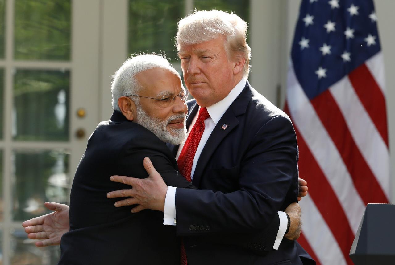 Tổng thống Trump sẽ thảo luận chiến lược châu á và mạng 5G với thủ tướng Ấn Độ