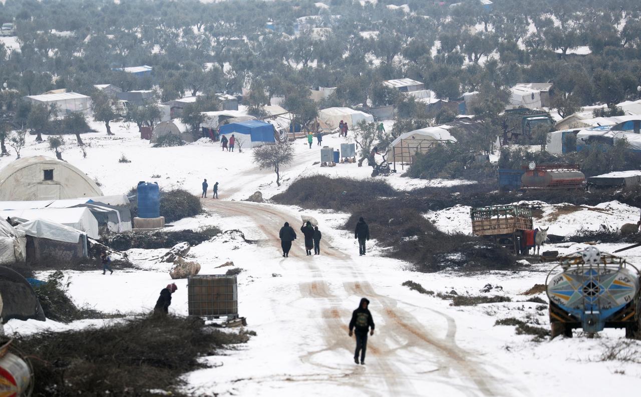 Chiến dịch tấn công do Nga hậu thuẫn khiến hơn tám trăm ngàn thườngdân Syria chạy loạn