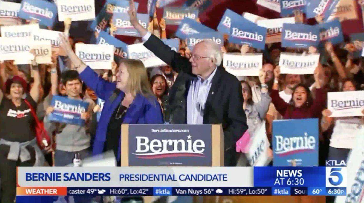 Thượng Nghị Sĩ Bernie Sanders giành chiến thắng trong cuộc bầu cử sơ bộ ở Nevada