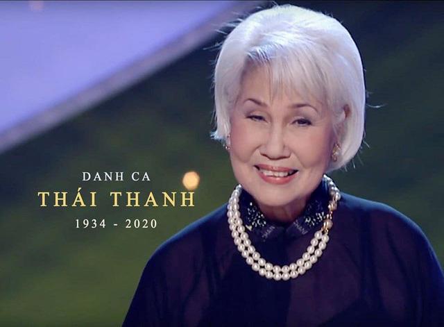 Nữ danh ca Thái Thanh qua đời