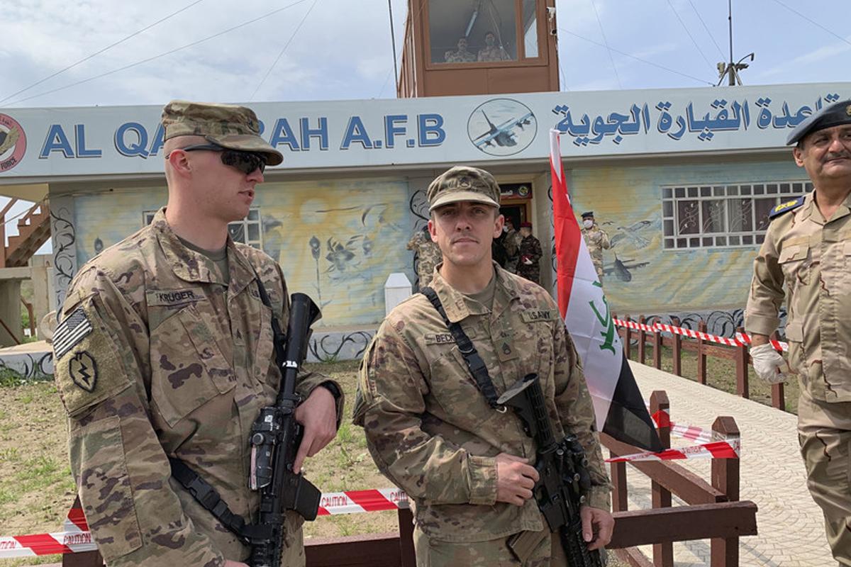 Các lực lượng do Hoa Kỳ lãnh đạo rút khỏi căn cứ thứ 3 của Iraq trong tháng này