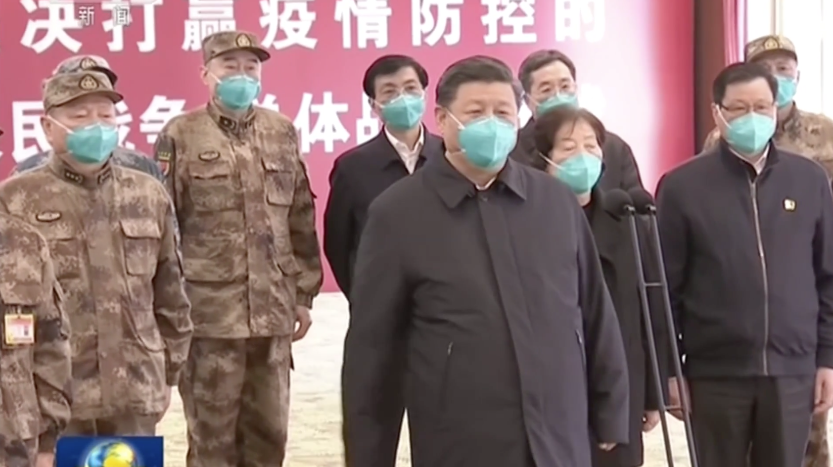 Chủ Tịch Trung Cộng Tập Cận Bình đến thăm Vũ Hán khi số ca nhiễm coronavirus giảm mạnh