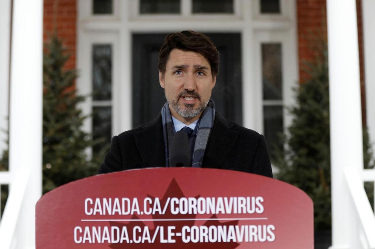 Thủ Tướng Justin Trudeau yêu cầu người dân canada ở nhà