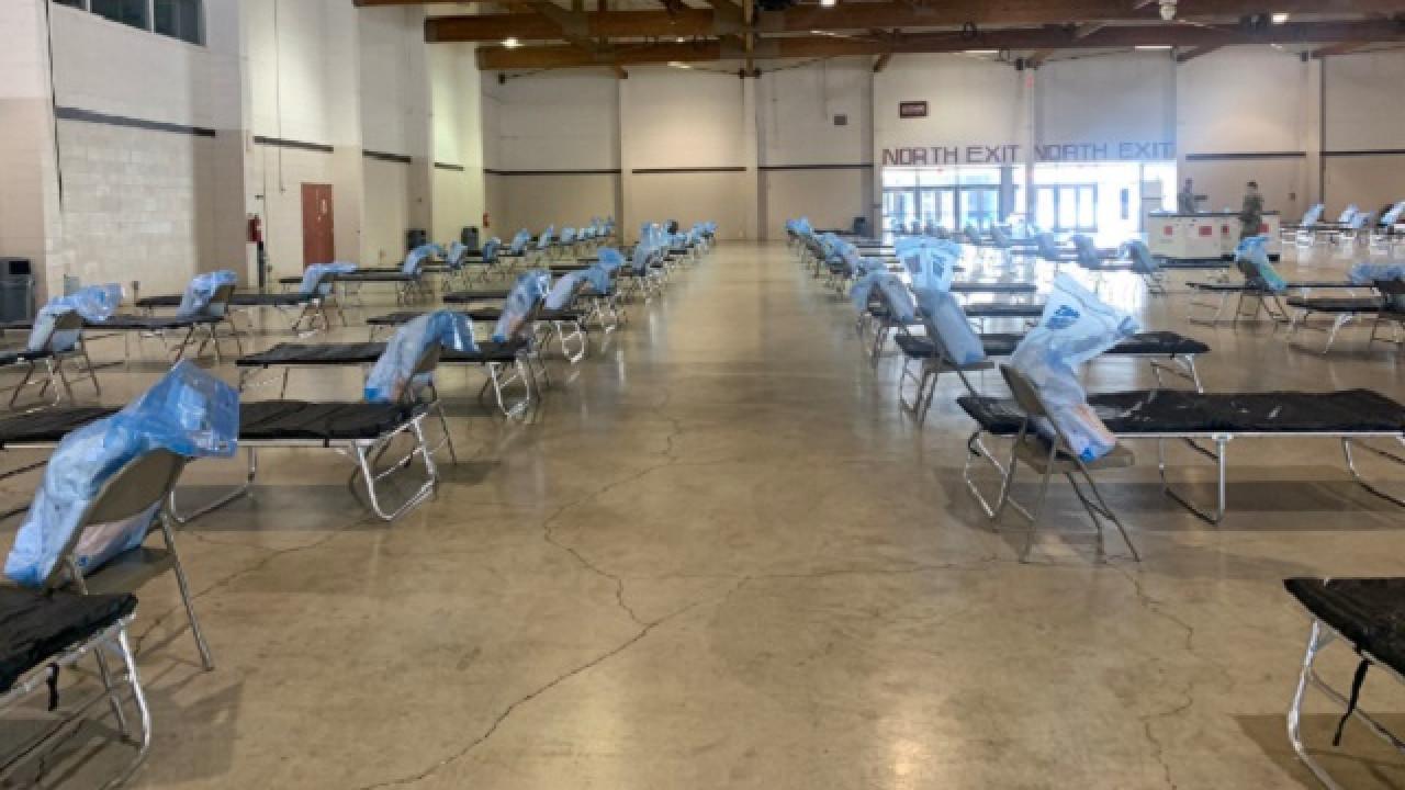 Vệ Binh Quốc Gia Oregon thành lập bệnh viện dã chiến cho bệnh nhân coronavirus