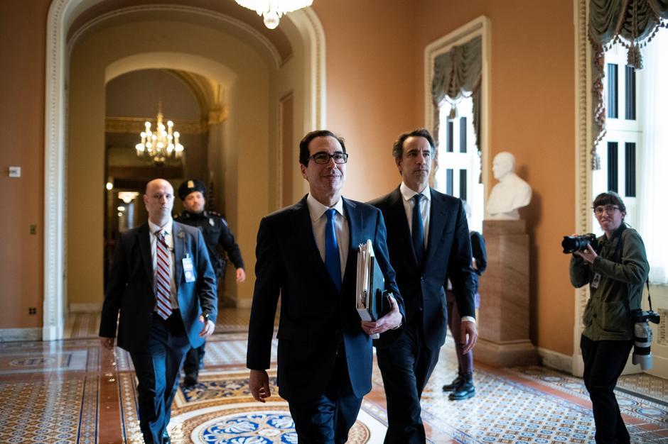 Thượng Viện đạt được thỏa thuận viện trợ 2 ngàn tỷ Mỹ kim đối phó với coronavirus