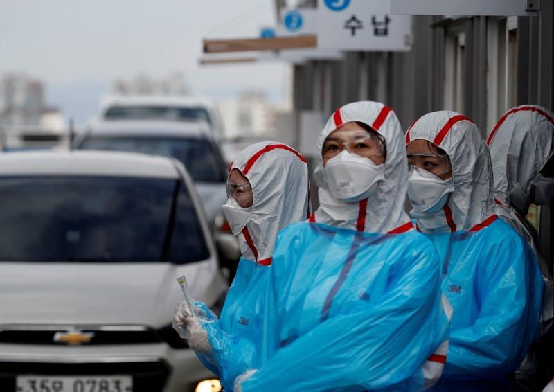 Nam Hàn đánh bại Hoa Kỳ trong cuộc đua xét nghiệm người nhiễm coronavirus