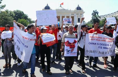 Nhiềutổ chức dân sự ra tuyên bố biển Đông, lên án Trung Cộng bành trướng